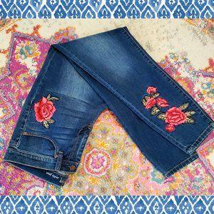 Flower Patch Skinny Jeans